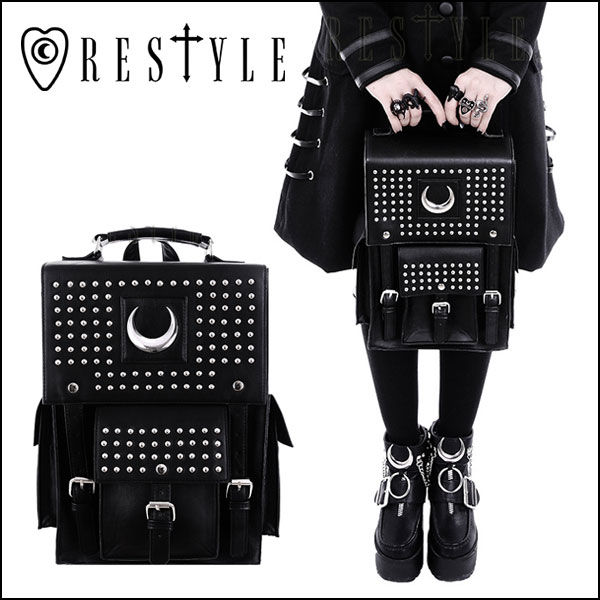 d056f5d77 【即納】RESTYLE リスタイル IRON MOON BACKPACK バックパック: ¥ 8,640