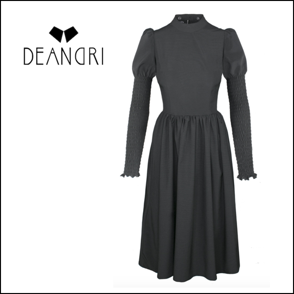 GENEVIEVE SHIRRED DRESS [Cult Collar Collection]