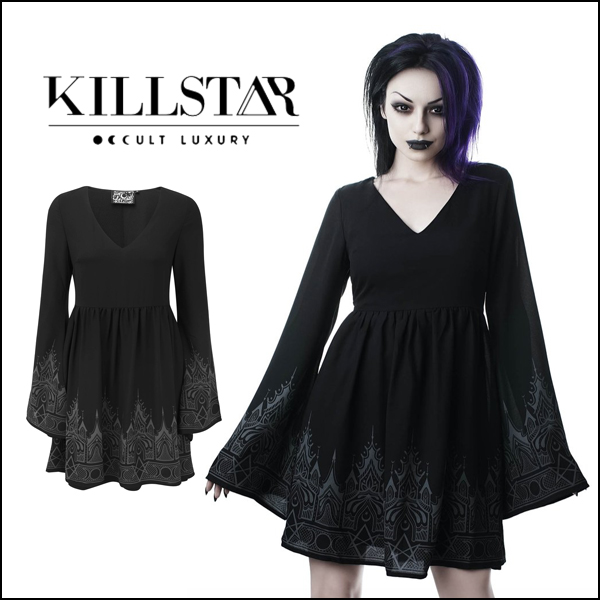 KILLSTAR キルスター Duchess Mourning Dress [B] ワンピース